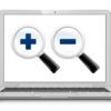 パソコンの「拡大(ズーム)・縮小」機能で表示画面サイズを変更する方法